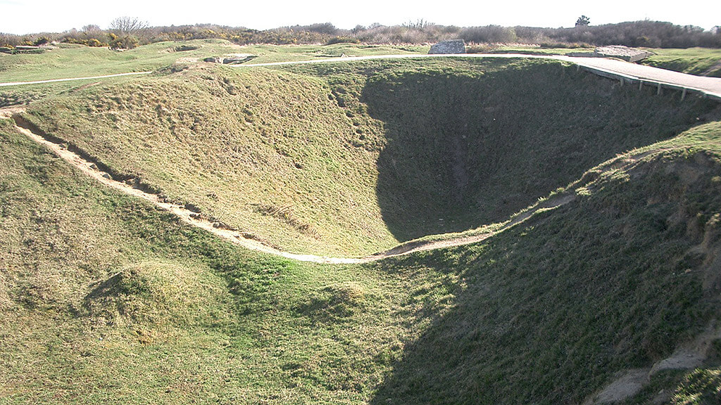 Pointe du Hoc Normandía
